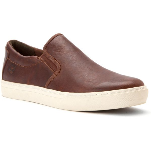 Timberland Men's Adventure 2.0 Cupsole Slip-On Loafers Shoes... ($80) ❤ liked on Polyvore featuring men's fashion, men's shoes, men's dress shoes, dark brown smooth, shoes, mens slip on shoes, timberland mens shoes, mens slip on loafers, mens loafers shoes and mens dress shoes