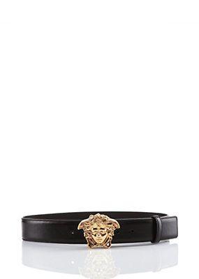 Versace - Belt with Medusa Head Buckle