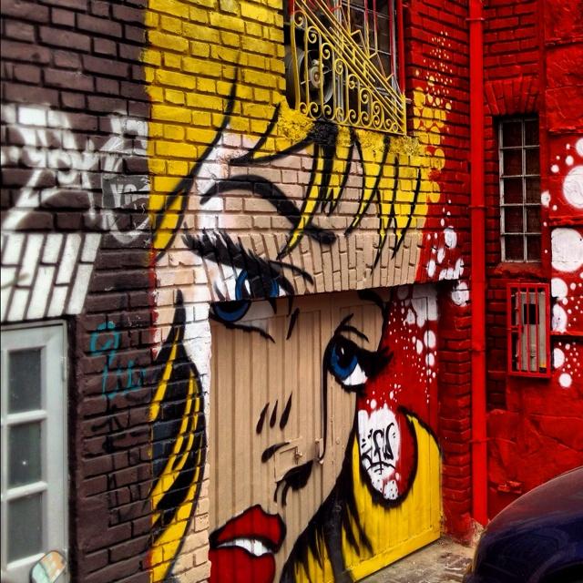 Inspired by iconic pop artist Roy Lichtenstein