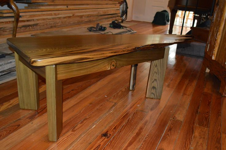Sinker Cypress Coffee Table By Don Hostetler S Fine