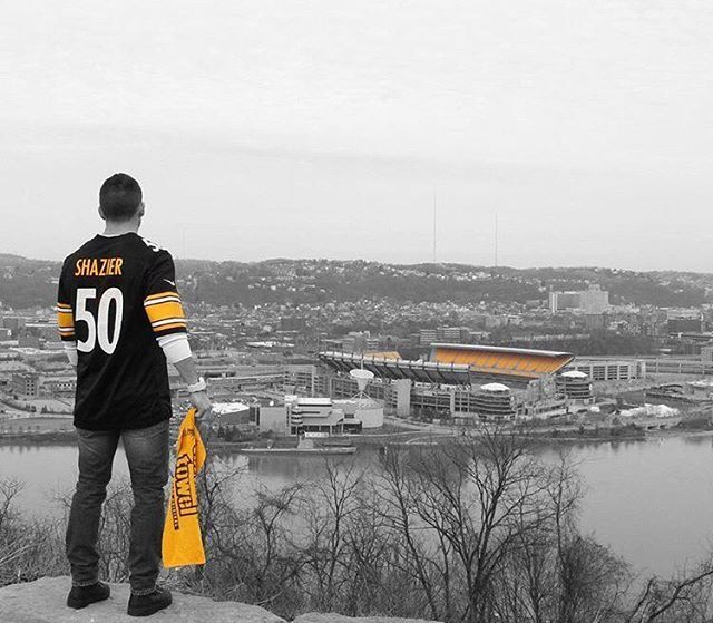 @steelers fans ready for today's game. Thanks to @pointparku for sharing this photo.  #Pittsburgh #steelernation #herewego #steelers  Follow @WPXI and tag #WPXI for a chance to be featured.
