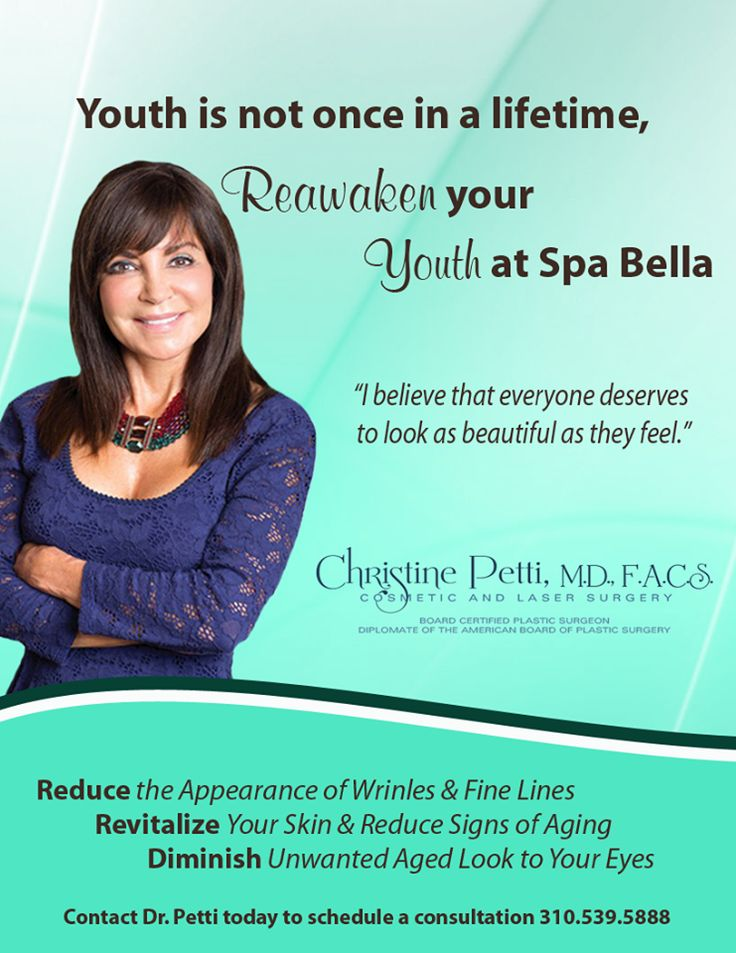 Youth is not once in a lifetime, Reawaken Your Youth at #SpaBella  #BabyBoomers #Rejuvenation