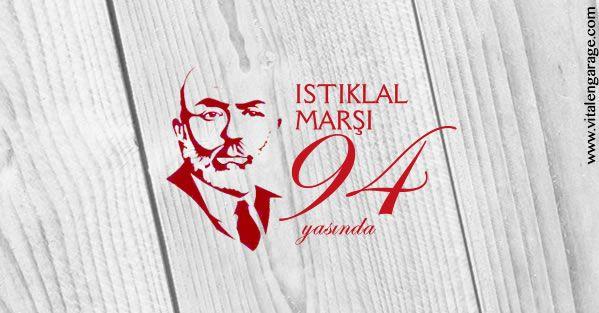 Turkiye Cumhuriyeti Istiklal Marsi'nin TBMM'de kabul edilisinin 94. yili kutlu olsun. / 94 Years of Acceptance of The Turkish National Anthem