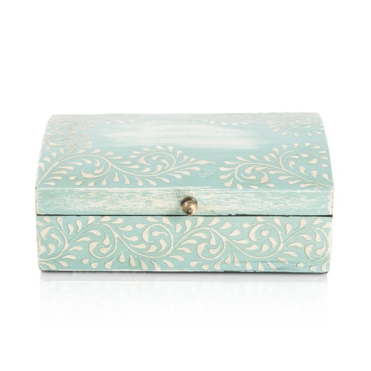 For mom's jewellery - Swirl Handpainted Box from www.woolworths.co.za