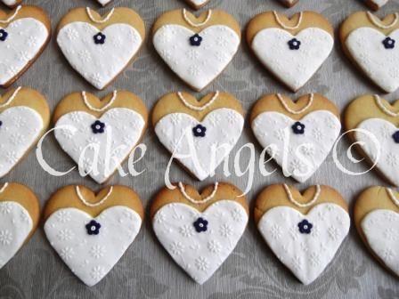 Bride Cookies