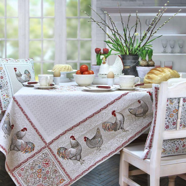 Tischläufer Ostern - Sander-Tischwäsche.de