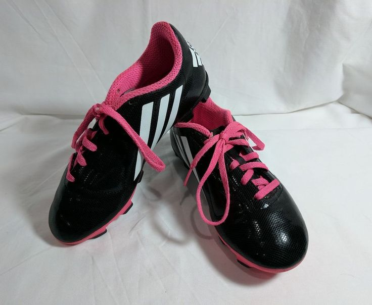 Adidas Kids Soccer Shoes Size 3.5 (F) #adidas
