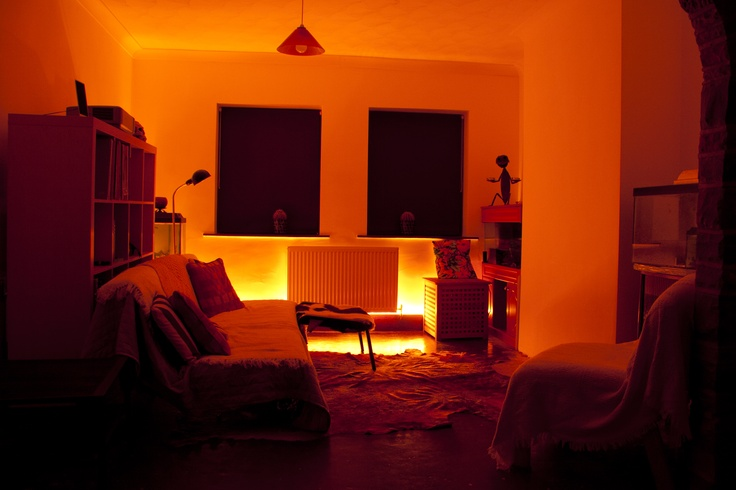 Living Room Colour Changing Led Strip Lighting