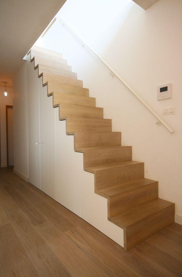 20 beste idee n over kast onder de trap op pinterest onder de trap pantry schappen onder - Handige trap ...