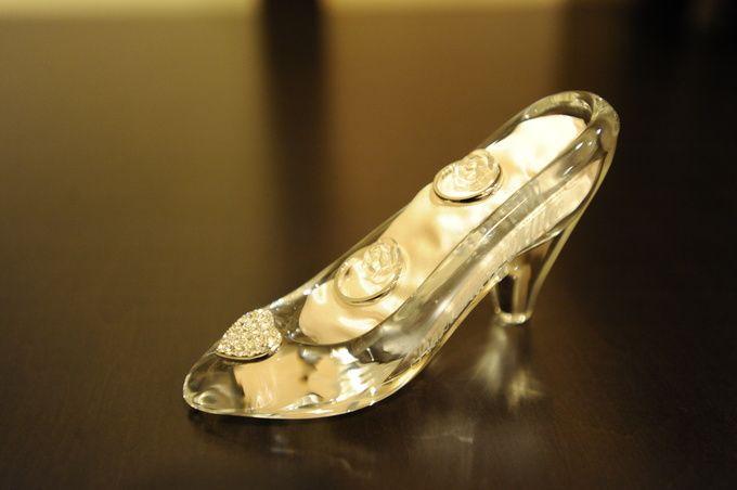 リングピロー ガラスの靴.JPG