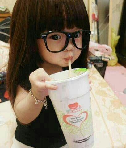 Cute  glases and girl....