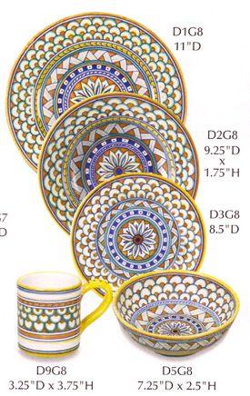 Italian Ceramics u0026 Pottery Deruta Italy Majolica  sc 1 st  Pinterest & Best 200+ C----04Ceramic/DERUTA ITALIAN MAJOLICA POTTERY images on ...