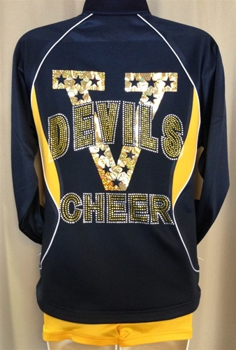 Custom Team Jackets - Cheer Apparel by Empire Cheer, $65.00 #cheer #cheerleading #cheerapparel