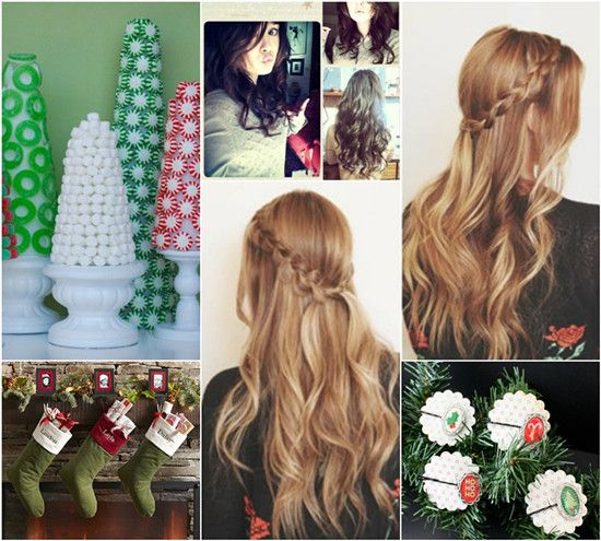 Outstanding 1000 Images About Christmas Party Hairstyles On Pinterest Short Hairstyles For Black Women Fulllsitofus