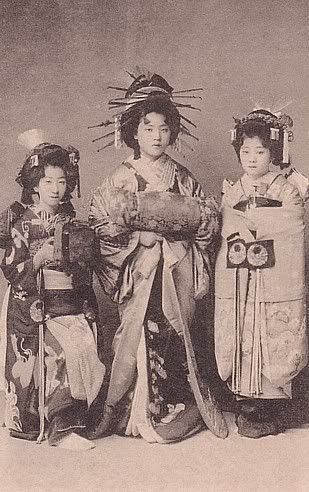 Maiko 舞子はん c. 1900