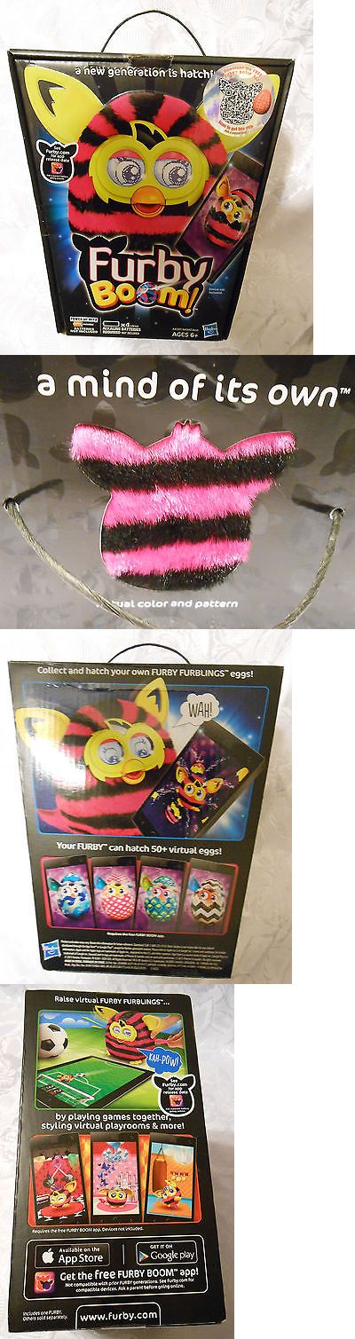 Furby 1083: New Pink And Black Stripped Furby Boom! -> BUY IT NOW ONLY: $89 on eBay!
