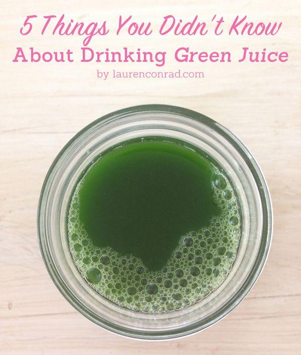Máquina de Limpieza: 5 cosas que debe saber acerca de beber jugo verde