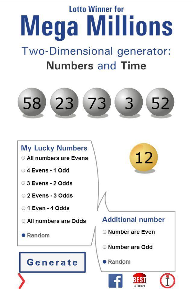 Lotto Winner for Mega Millions   Mega Millions, Mega Millions