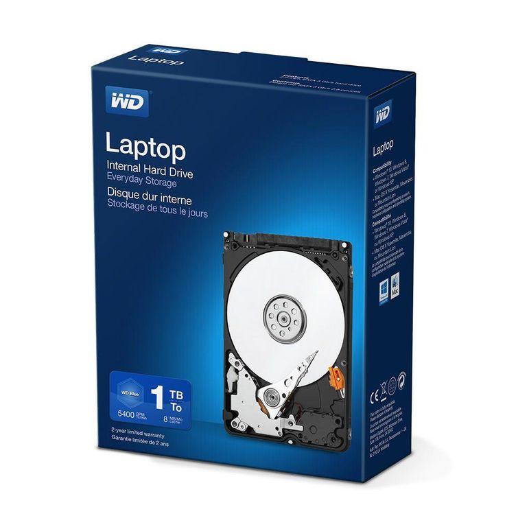 WD Laptop Mainstream HDD 1TB 2,5inch 5400rpm Retail internal