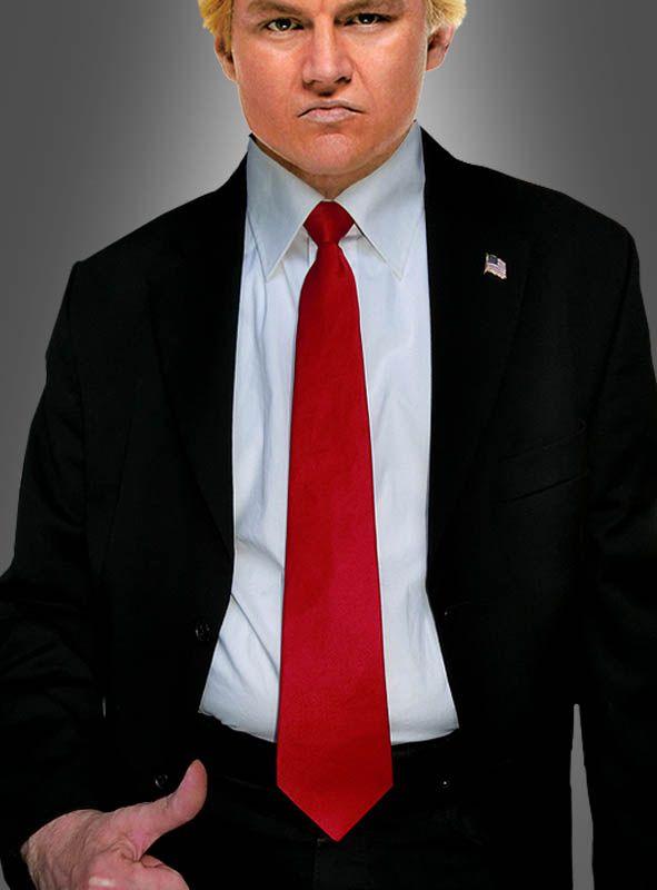Rote Krawatte Trump bei » Kostümpalast.de