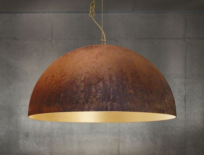 The Queen Contrasting Corroded Steel And Gold Combine In This Highly Aesthetic Large Pendant A Regal Beauty Of Some Substance