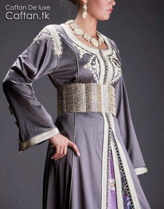 65 best robe-marocaine images on Pinterest | Beads, Blue and ...