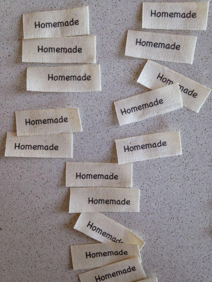 LaGallinaRosita: DIY: Etichette in tessuto