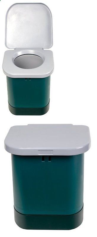 Camping Toilet - Portable Toilets and Accessories 181397: Stansport Portable Camp Toilet (14.7X14.7X14.6-Inch)...New -> BUY IT NOW ONLY: $73.95 on eBay!
