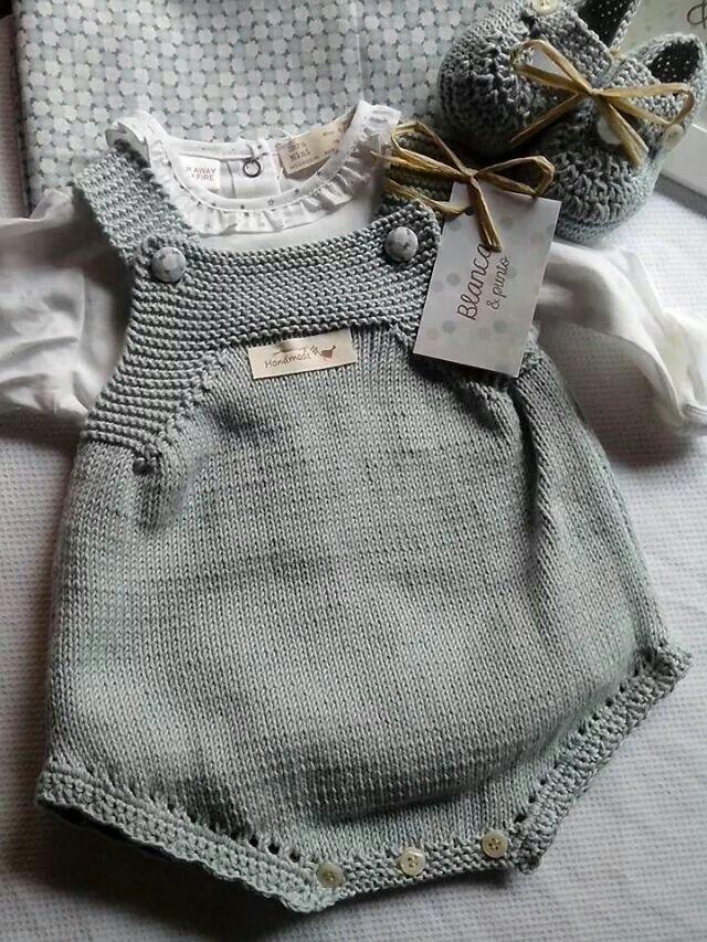 Ranita de algodón, en color azul glacial. De blancaypunto. Talla 3 meses