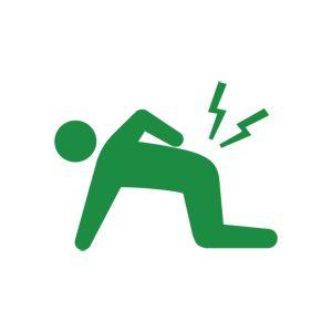 腰痛のピクトグラム2
