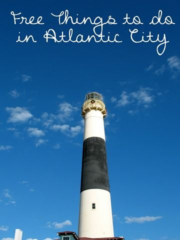 Free Things to do in Atlantic City