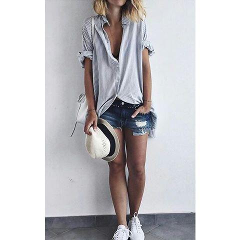 1 отметок «Нравится», 1 комментариев — Betch (@betchforlife) в Instagram: «Cute lazy outfit! #summer #summerfashion #summertime #fashionista #fashion #clothing #newaccount…»
