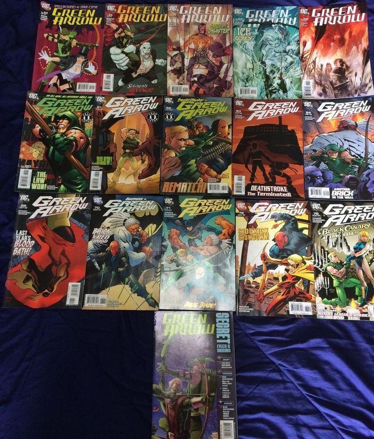 Selling Green Arrow (2005) Mixed Lot x16 Comic FREE WORLDWIDE POSTAGE INCLUDED. Also Including Secret Files #1 #DCComics #Arrow #Justiceleague #GreenArrow