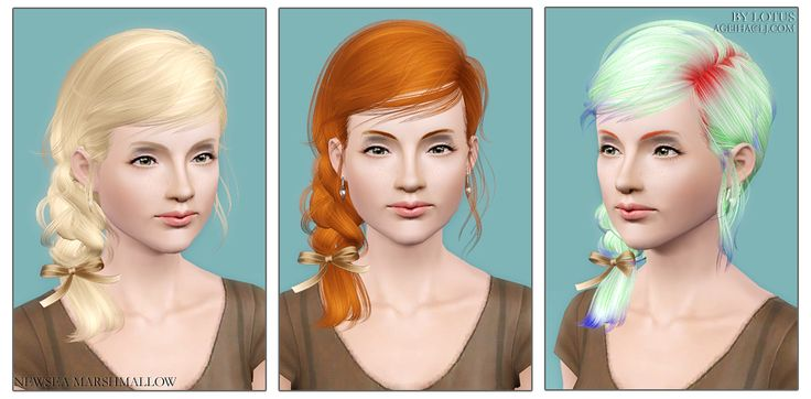 Hairstyles Braids Download: 1000+ Images About My Sims 3 Hair Downloads On Pinterest
