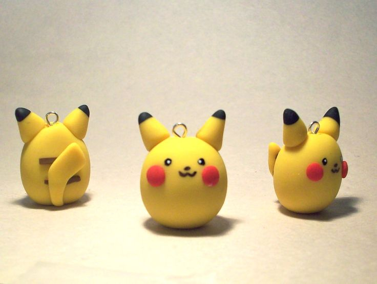 Pikachu Charm by CadmiumCrab