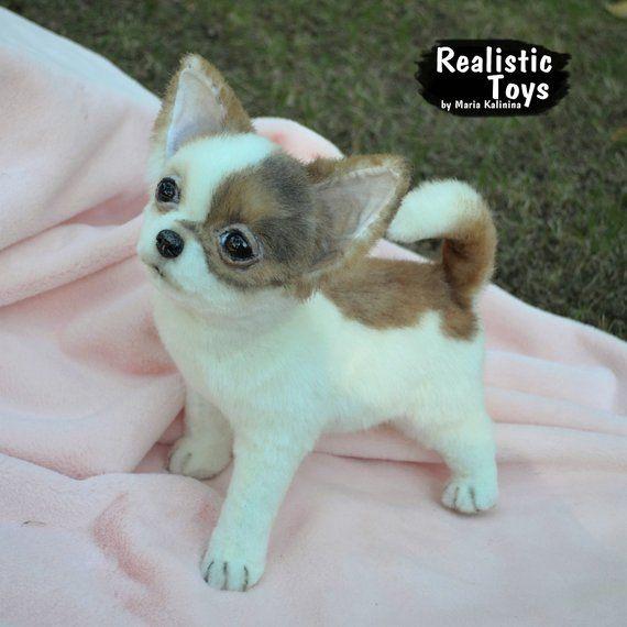Chihuahua Puppy Realistic Life Size Replica Pet Portrait