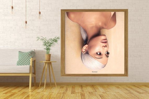 Ariana Grande God Is A Woman Music Album Cover Silk Art Poster