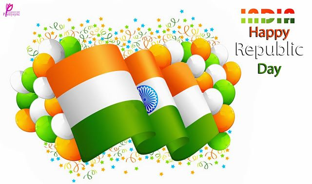 Happy Republic Day Wishes SMS Image 26 January Republic Day of India Message and Wallpaper