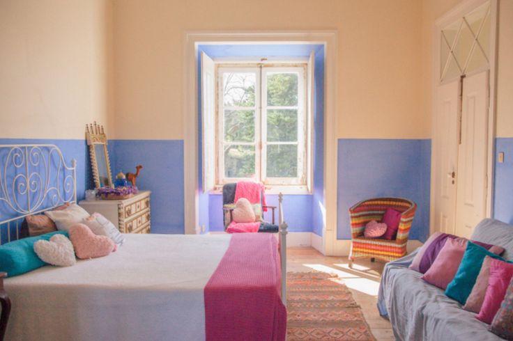 Bedroom n.5 at My Vintage Wedding in Portugal - The Quinta www.myvintagewedd... #thequinta #myvintageweddingportugal #vintagweddinginportugal #weddinginportugal #weddingvillainportugal #vintageweddingvilla #vintagevillainportugal #rusticweddinginportugal #rusticweddingvilla #shabbychicwedding #shabbychicweddinginportugal