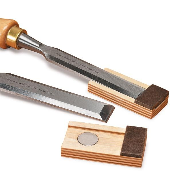 A chisel must have a sharp edge free of nicks if it's going to perform well. But this edge can be easily damaged, especially when tossed in ...