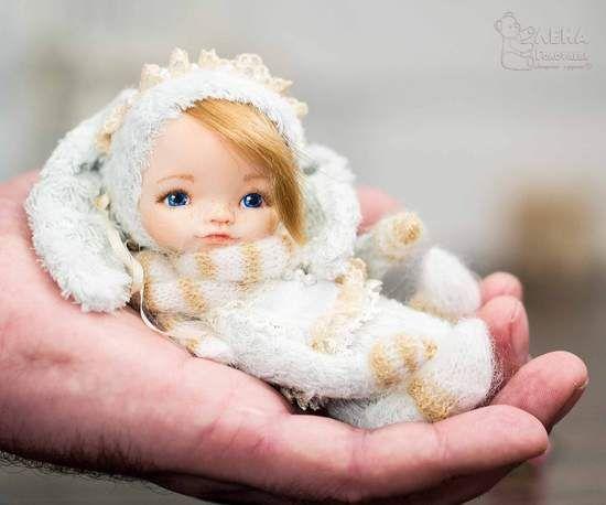 Teddy Doll Bunny By Elena Golofaeva - Bear Pile