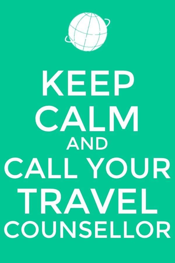 For a no stress holiday call your Travel Counsellor and let them organise everything.  Www.travelcounsellors.nl/annelies