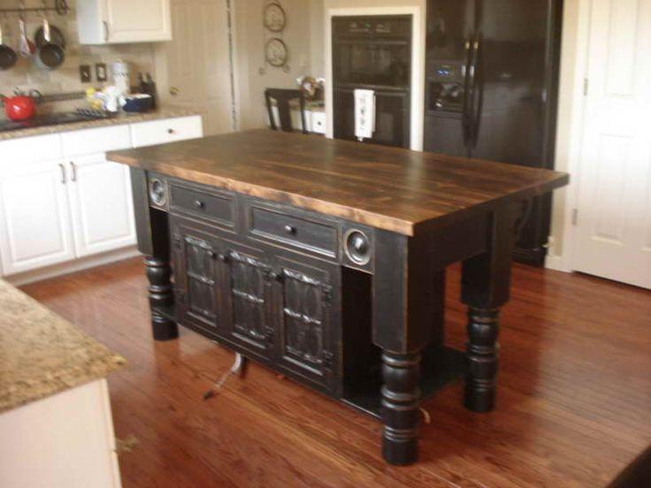 Reclaimed Wood Kitchen Island | Reclaimed Wood | Farm ...