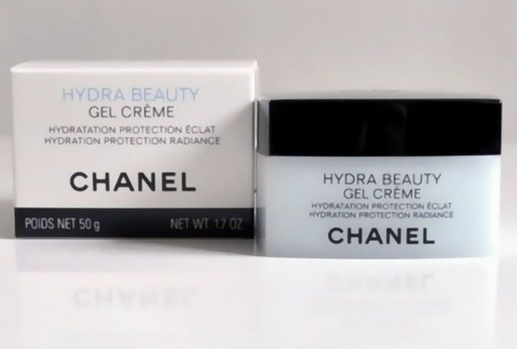 Chanel Hydra Beauty Gel Cream Hydration Protection Radiance 50g NEW #