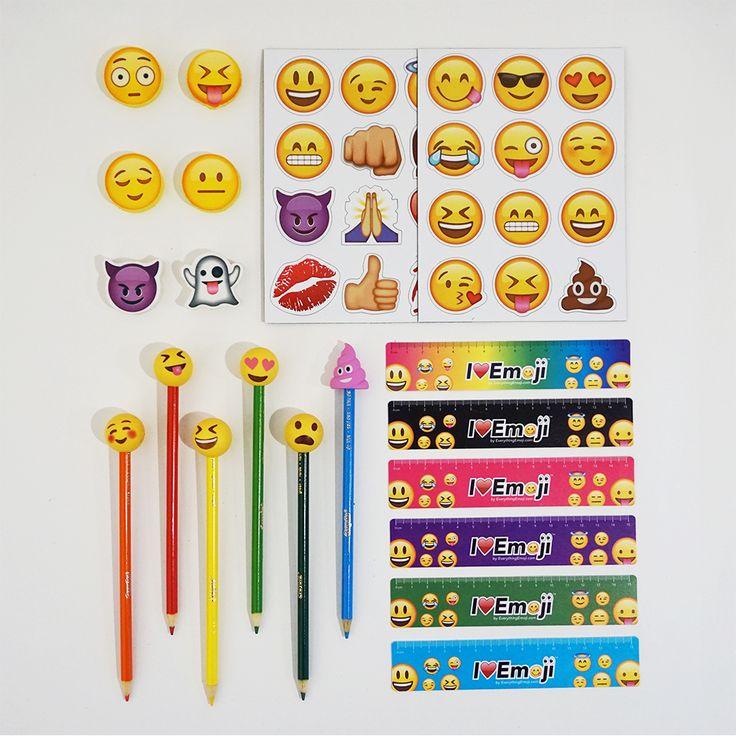 Emoji School Supply Fun Pack: Tongue Squint