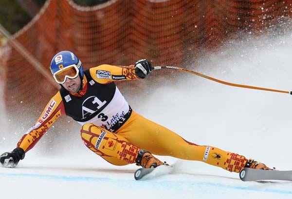 Men's Olympic downhill skiing bios