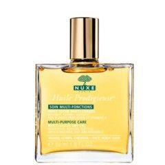 Huile prodigieuse de Nuxe es un aceite seco multifunción. Nutre y suaviza el rostro, cuerpo y cabello en un completísimo tratamiento de belleza. La piel se suaviza, nutre e hidrata, el cabello luce sedoso y brillante. ...