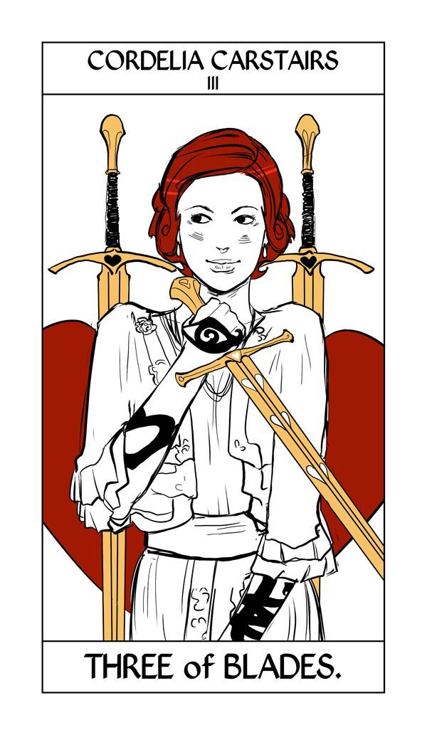 Jace and Alec tarot card by Cassandra Jean – TMI Source |Mortal Instruments Cards
