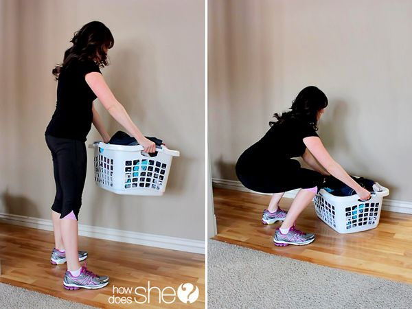Double it up! Get a clean house and a healthier body with these great workout-while-you-clean ideas!! You'll be amazed at how simple it really is! #workout #housework #itjustgoteasier #howdoesshe