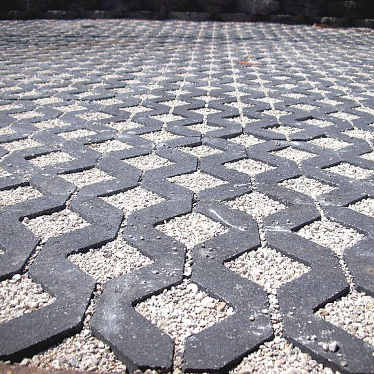 permeable paving driveway - this would be lovely as a quilt